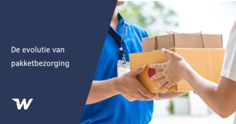De evolutie van pakketbezorging