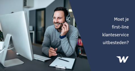 Moet je first-line klantenservice uitbesteden?