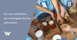 Het voorraadbeheer van voedingsproducten